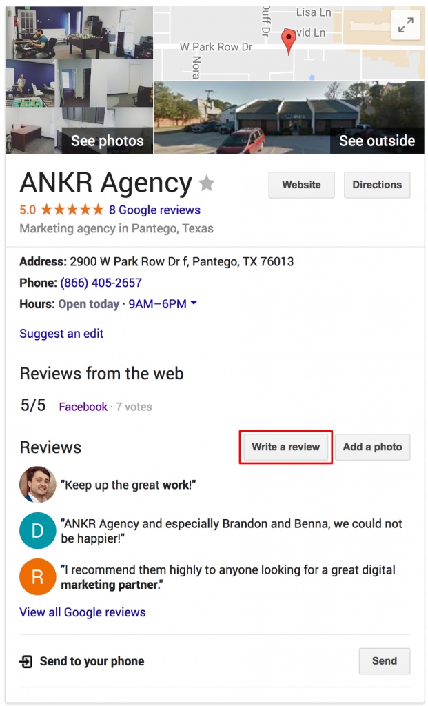 google review direct link how to