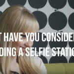 selfie station for salons